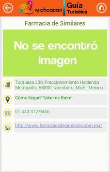 Guía Michoacán screenshot 3
