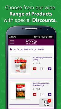 Krocery - Online grocery store apk screenshot