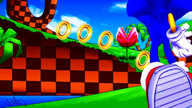 Game Run Sonic apk screenshot