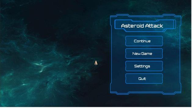 Asteroids Attack poster