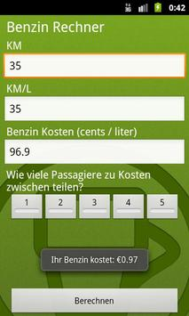 Gas/Petrol Price Calculator screenshot 5