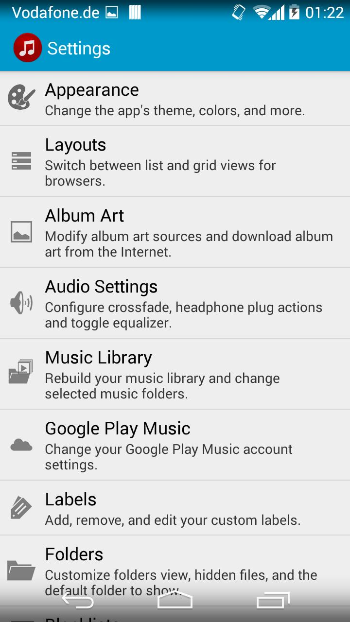 Jams Music Player for Android - APK Download