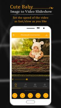 Cute Baby Image To Video Slide Show poster