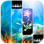 Blue Ocean Piano Tiles icon
