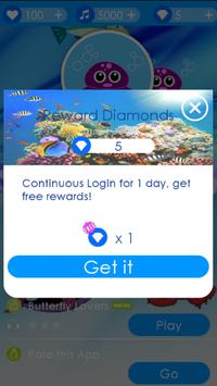 Blue Ocean Piano Tiles screenshot 1