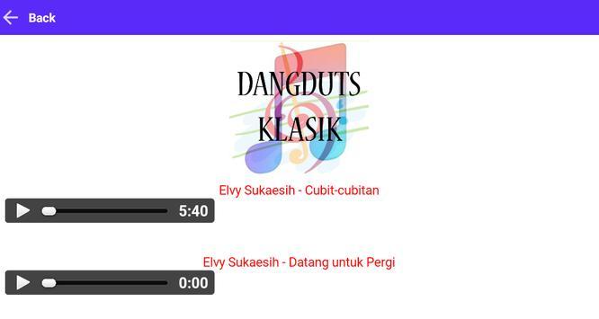 Dangdut Klasik screenshot 2