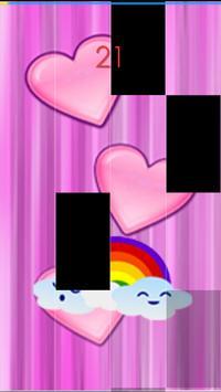 Rainbow Heart Piano Tiles screenshot 5