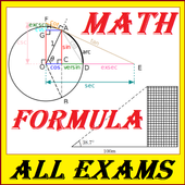 Mathematics Formula | Complete Maths For All Exams icon