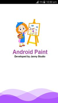 Android Paint App poster