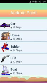 Android Paint App apk screenshot