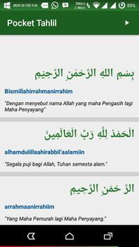 Pocket Tahlil & Yasin apk screenshot