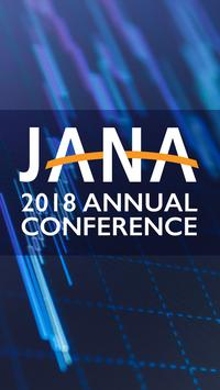 JANA Annual Conference 2018 poster