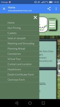 Janazah Services Ekran Görüntüsü 1