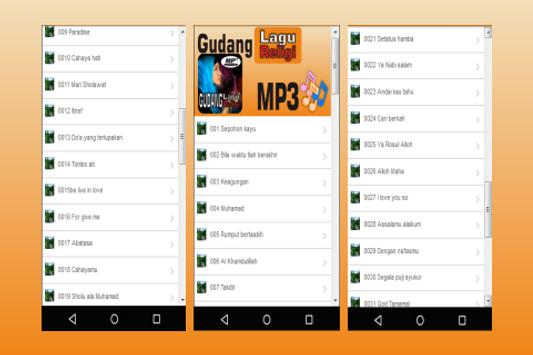 Gudang Lagu Religi Islami (Mp3) screenshot 1