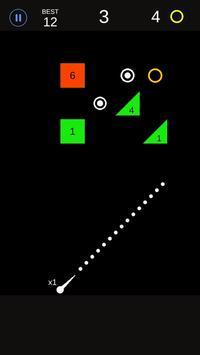 Bounce Ball Color Ball Shooter screenshot 1