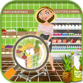 Hidden Objects Grocery Store - Supermarket Game icon