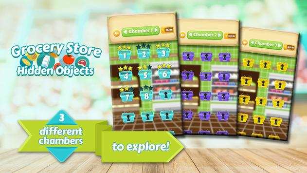 Hidden Objects Grocery Store - Supermarket Game poster