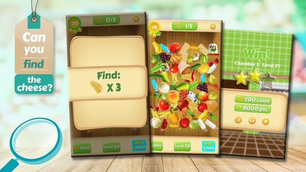Hidden Objects Grocery Store - Supermarket Game screenshot 1