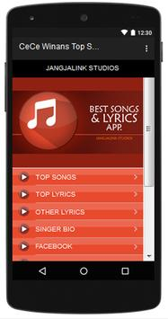 CeCe Winans Top Songs & Hits Lyrics. poster