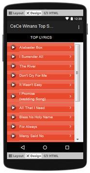 CeCe Winans Top Songs & Hits Lyrics. screenshot 2