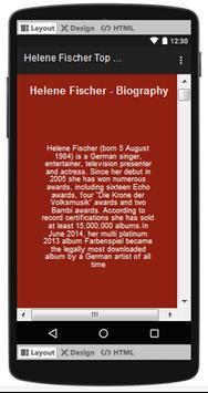 Helene Fischer Top Songs & Hits Lyrics. screenshot 1