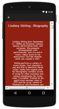 Lindsey Stirling Top Songs & Hits Lyrics. screenshot 1