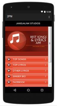 2PM Top Songs & Hits Lyrics. poster