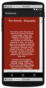 Ron Kenoly Top Songs & Hits Lyrics. screenshot 1