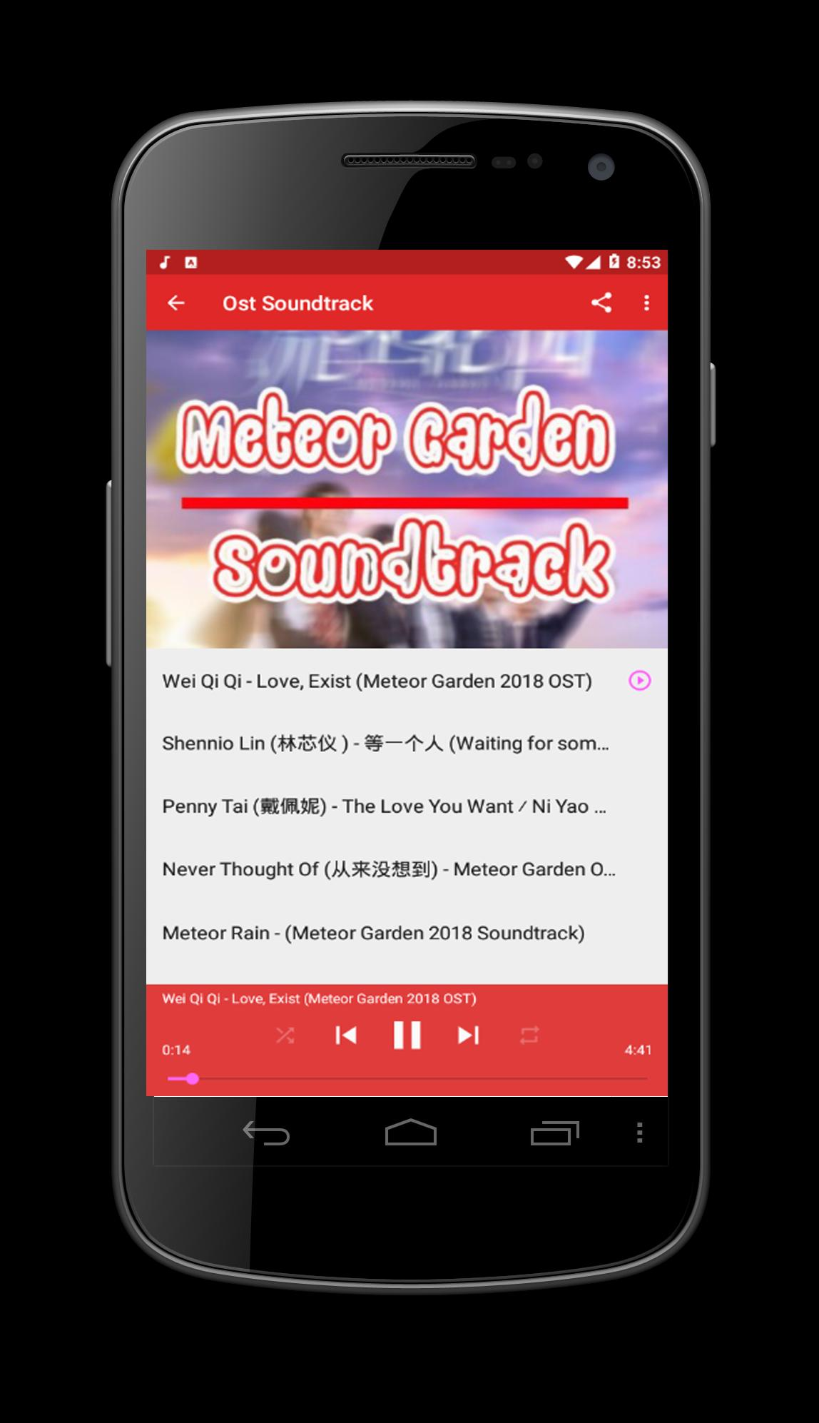 Meteor Garden Song For Android Apk Download