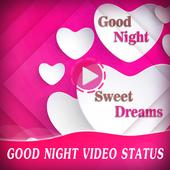 Good Night Video Status icon