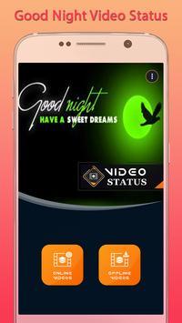 Good Night Video Status poster