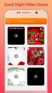 Good Night Video Status screenshot 1
