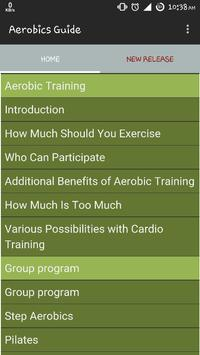 Aerobics Exercise Guide poster