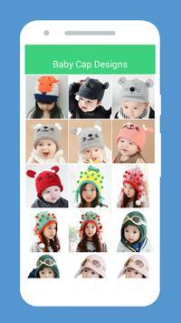 Baby Cap Design 2018 poster