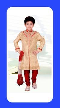 Children Sherwani poster