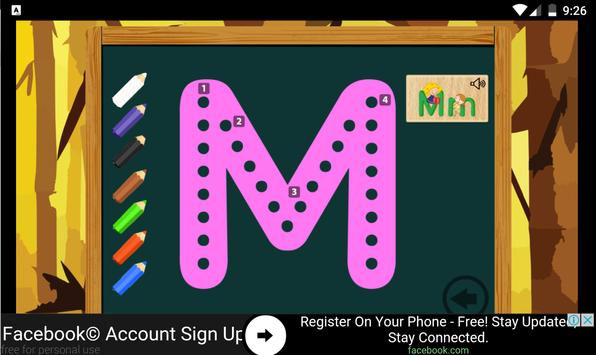 Kids Alphabet Learning ABC screenshot 5