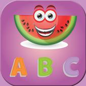 Fruit English Alphabet ABC Kid icon