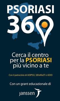 Psoriasi360 poster