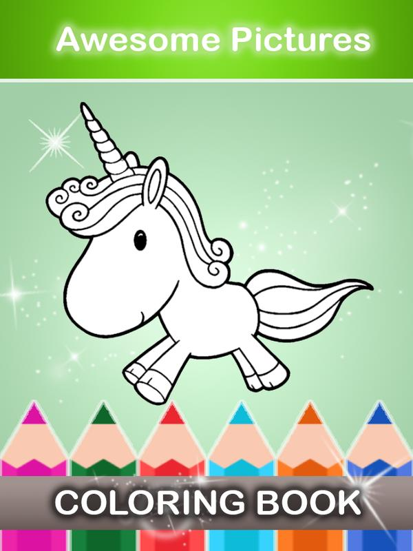 Unicorn World Coloring Book APK Download