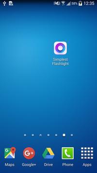 Simplest Flashlight screenshot 2