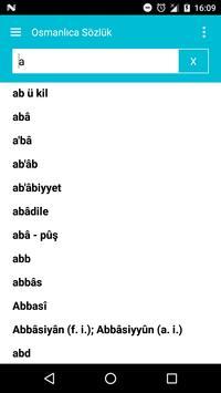 Osmanlıca Sözlük screenshot 1