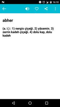 Osmanlıca Sözlük screenshot 2