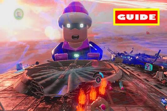 Guide LEGO MARVEL FREE poster