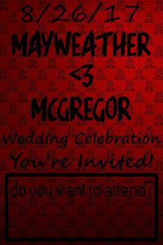 Mayweather - Mcgregor Wedding apk screenshot