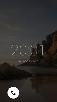 Peek Now Lockscreen apk screenshot