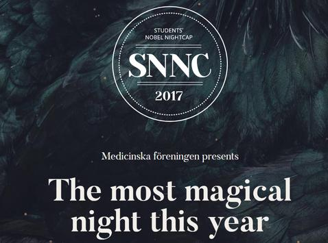 Nobel Nightcap 2017 poster