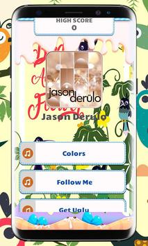 Jason Derulo Piano Tiles Game poster