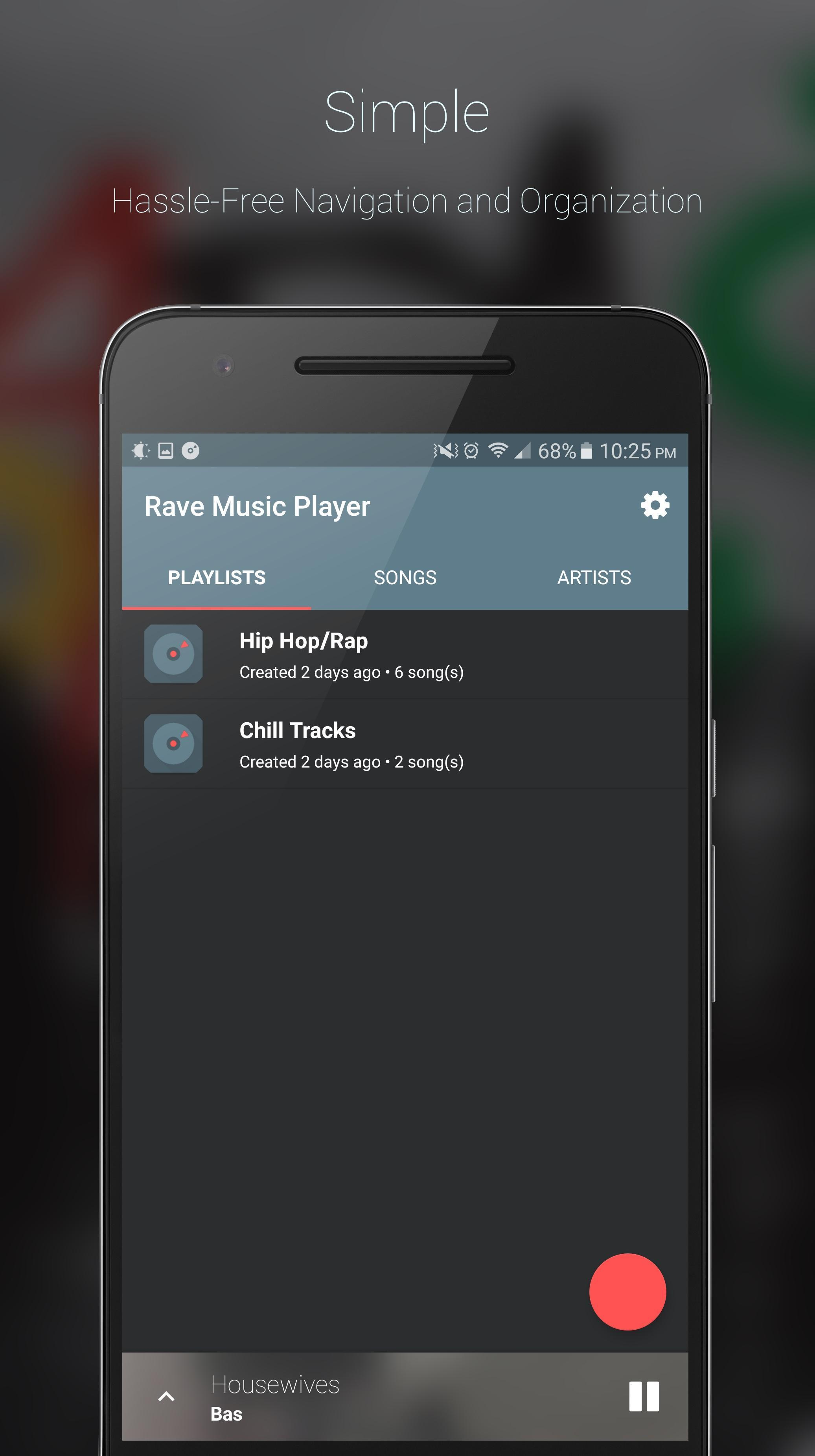 Rave Music Player (BETA) (Unreleased) for Android - APK Download