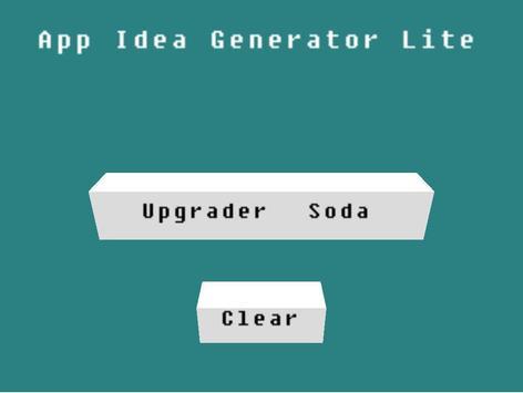 App Idea Generator poster