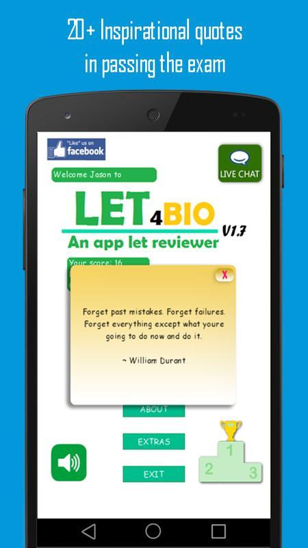 let4bio let reviewer poster let4bio let reviewer apk screenshot